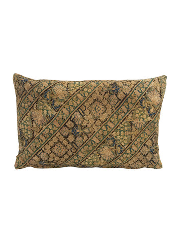 Limited Edition Rare Turkish Embroidery Textile Pillow 34290