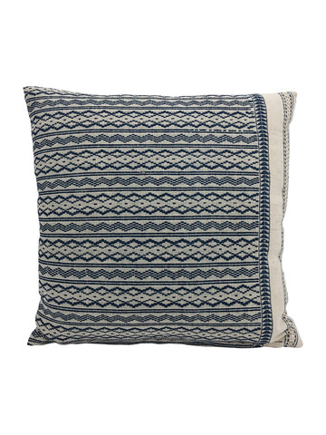 Limited Edition Tribal Embroidery Textile Pillow 34206