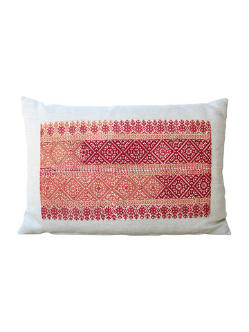 Rare Turkish Embroidery Textile Pillow 29979