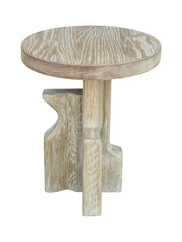 Lucca Studio Wood Modernist Side Table 26978