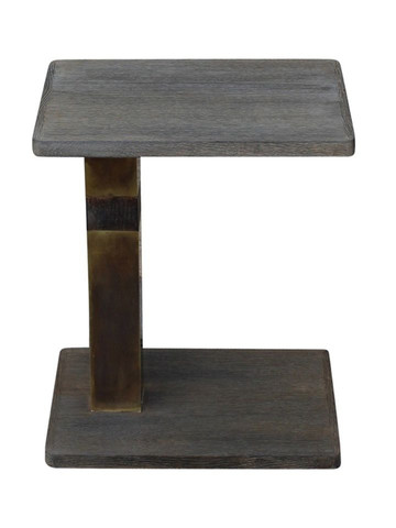 Lucca Studio Hailey  Side Table (Grey) 25694