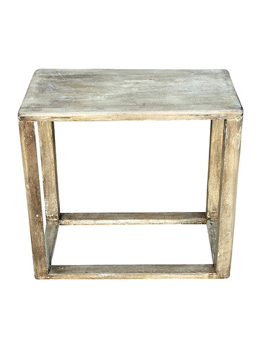 Lucca Studio Macy Walnut Side Table 31575
