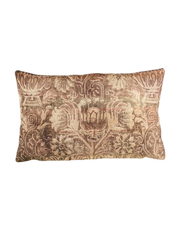 Vintage French Textile Pillow 31835