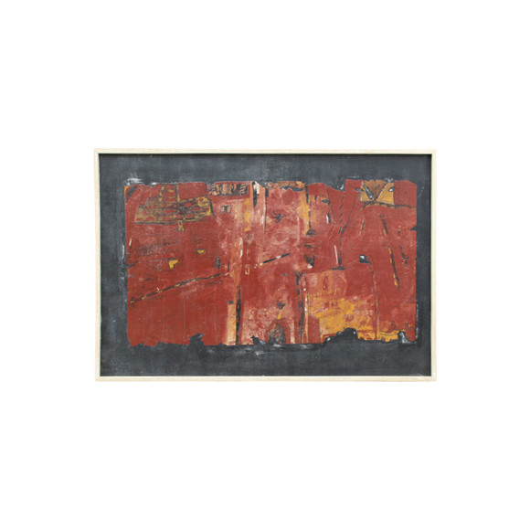 Mid Century French Abstract Painting 29369