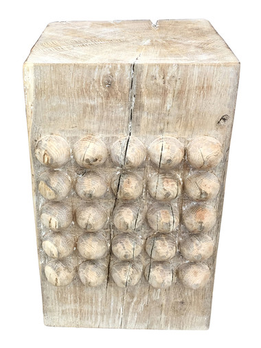 Limited Edition Wood African Stool/Side Table 34659