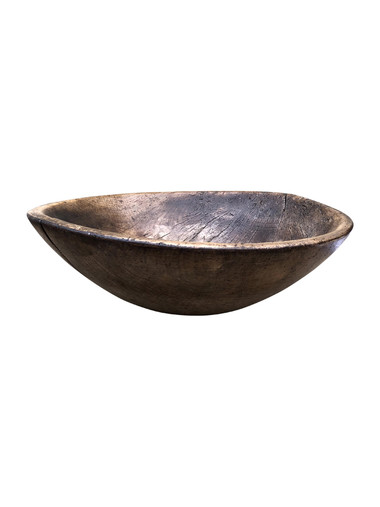 Antique African Wood Bowl 34781