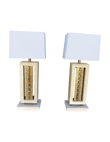 Pair of Limited Edition Lamps 35071