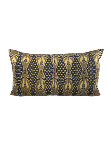 Large Vintage Indonesian Textile Pillow 31295