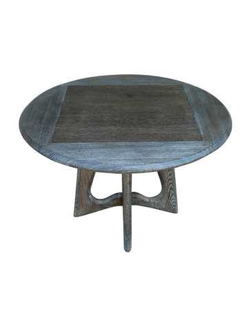 French Mid Century Oak Side Table 26903