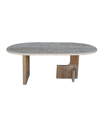 Limited Edition Modernist Base Oval Dining Table 34904