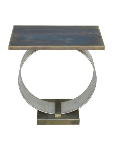 Lucca Limited Edition Abby Side Table (Brass Top) 27755