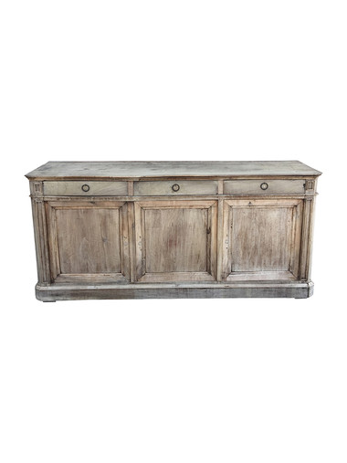 19th Century French Oak Buffet 37883