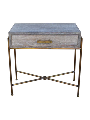 Limited Edition Cerused Oak Night Stand 22424