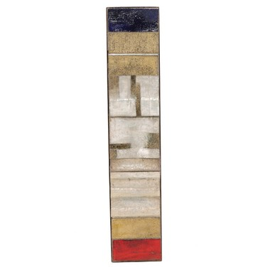 Polychrome Ceramic Relief 36236