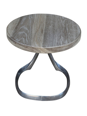 Limited Edition Oak and Stainless Base Table 25582