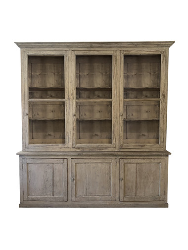 19th Century French Oak Cabinet 37452