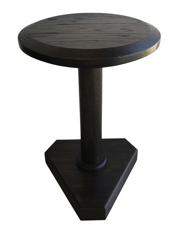 Lucca Studio Bikar Cerused Oak Side Table 33657