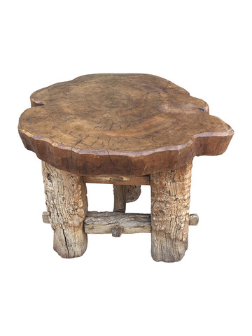 French Primitive Side Table 34553