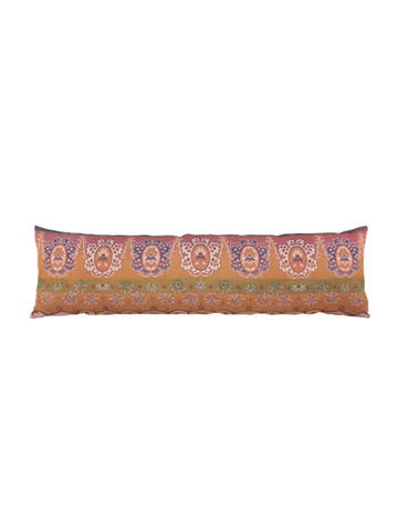 Large 19th Century French Textile Lumbar Pillow 26604