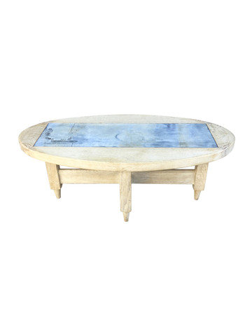 Guillerme et Chambron French Oak Coffee Table 33885