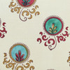 Vintage Turkish Embroidery Textile Pillow 32765