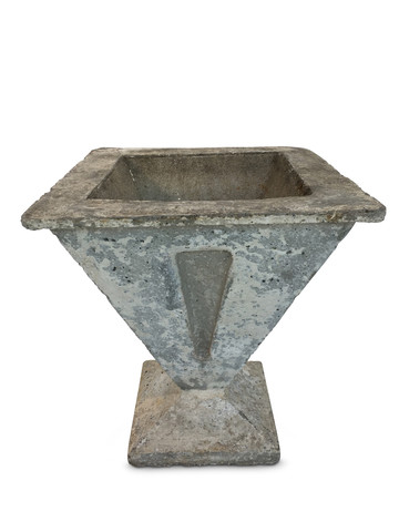 French Deco Cement Planter 19820