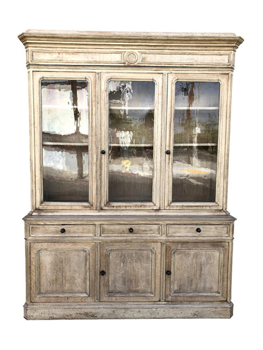 19th Century French Oak Cabinet 35153