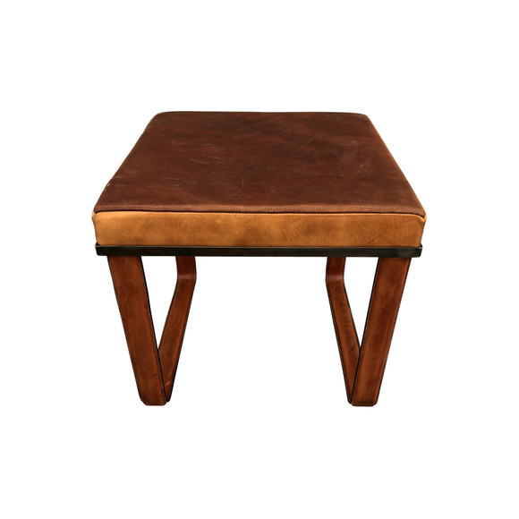 Limited Edition Saddle Leather Bench/Stool 35886