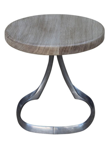 Limited Edition Oak and Stainless Base Table 25579