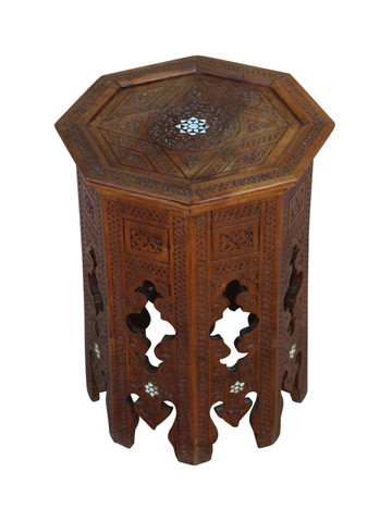 Antique Syrian Side Table 27192