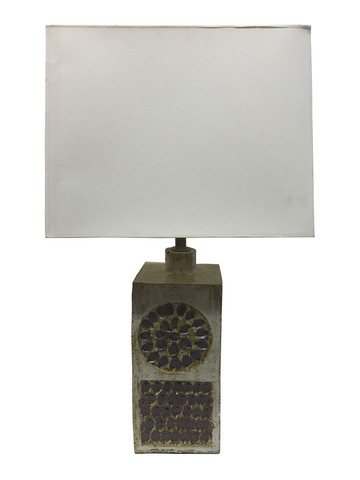 French Mid Century Ceramic Lamp 32048