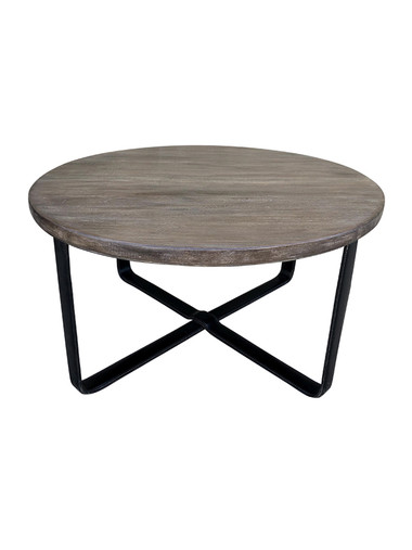Limited Edition Coffee Table With Leather Base 35413