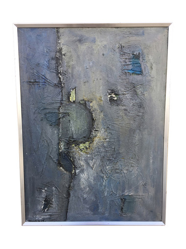 Swedish Abstract Oil Painting 34630