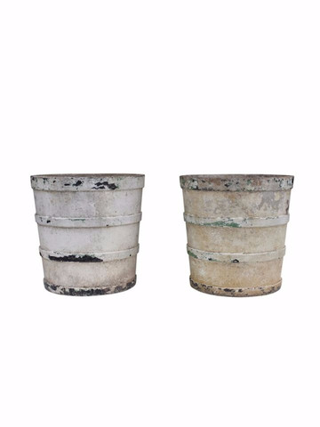 Pair of French Cement Planters 22516