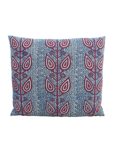 Vintage Indonesian Batik Textile Pillow 31498