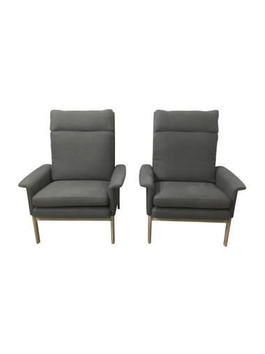 Pair of Mid Century Danish Arm Chairs 37259