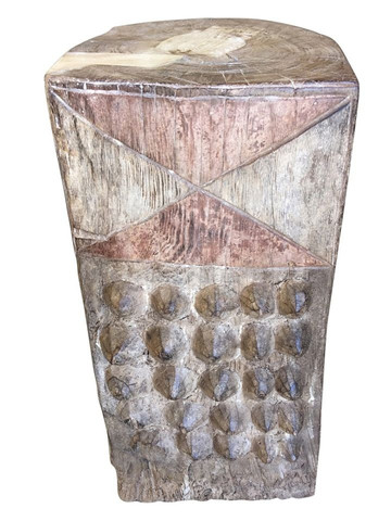 Primitive African Side Table 34184