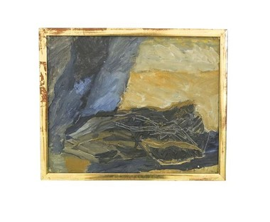 Swedish Abstract Oil Painting 32209