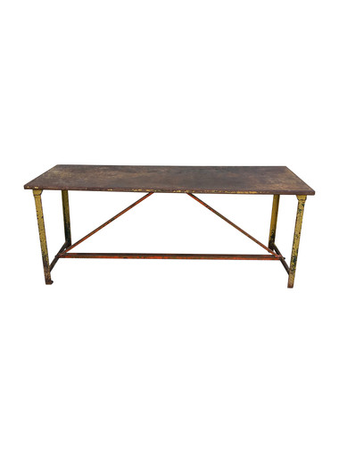 French 19th Century Iron Table 33553