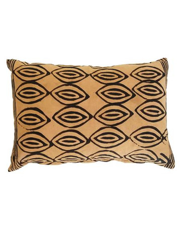 Vintage Indonesian Batik Textile Pillow 35503