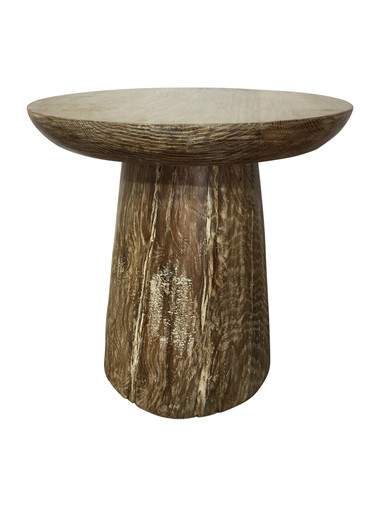 Limited Edition Solid Oak Side Table 37681