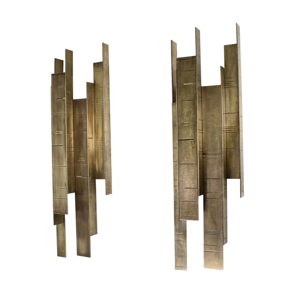 Pair of Lucca Studio Hayward Sconces 38103
