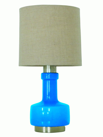 French Glass Lamp 25553