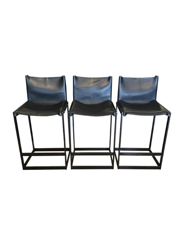 Set of (3) Dane Bar Stools 34978