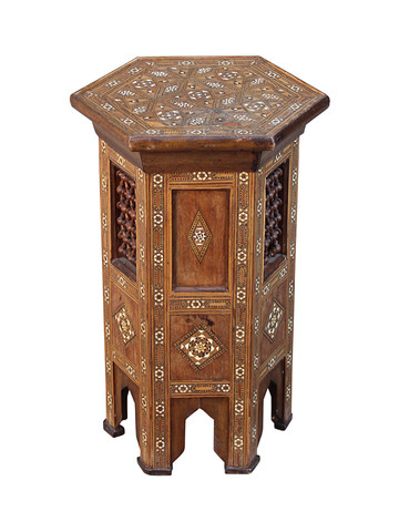 19th Century Syrian Side Table 30993