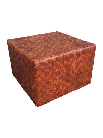 Lucca Studio Toby Leather Cube 35642