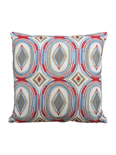 Limited Edition Embroidery Pillow on Belgian Linen 32883