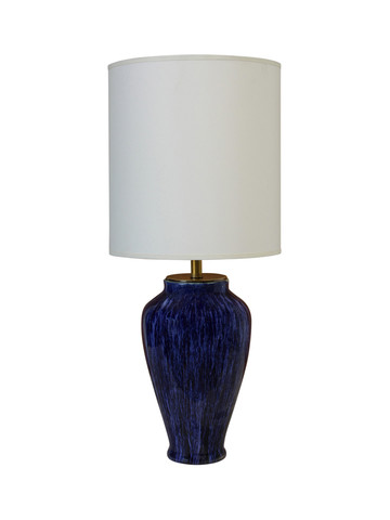 Blue French Ceramic Lamp 23756