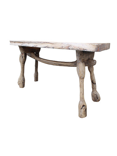 Limited Edition Primitive Console Table 34987