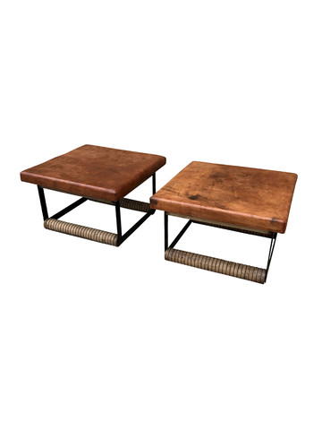 Pair of Lucca Studio Rudd Coffee Tables 34911